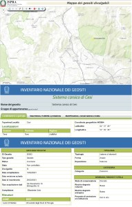 Geosito Sistema Carsico di Cesi